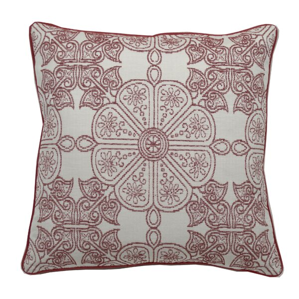 Down Floral Throw Pillow