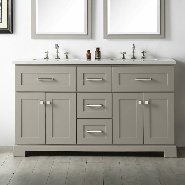 Torbett 60 Double Vanity Set by Gracie Oaks