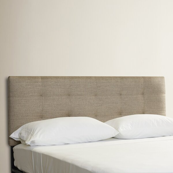 Emerson Tufted Upholstered Panel Headboard by Corr