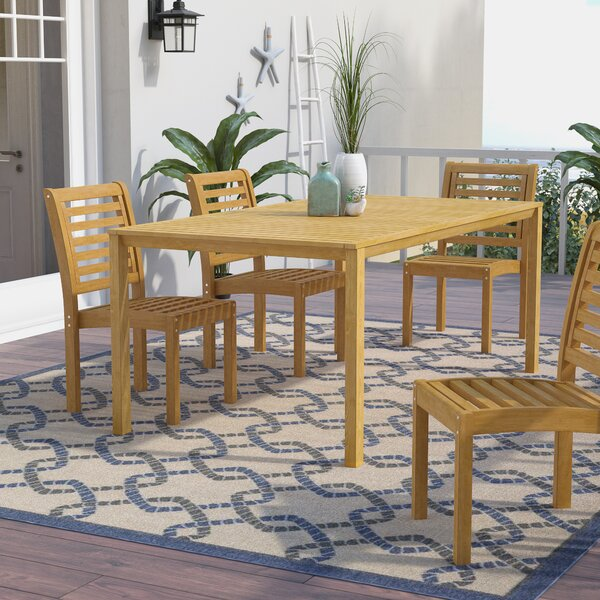 Myres Dining Table by Beachcrest Home