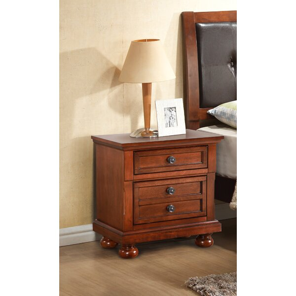 Charron 2 Drawer Nightstand by Charlton Home