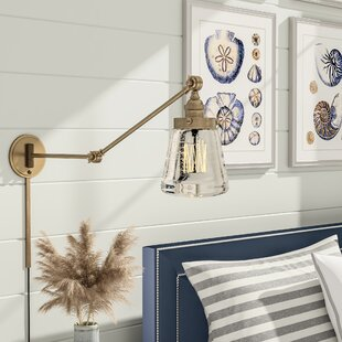 Inexpensive Brinley Swing Arm Lamp By Breakwater Bay