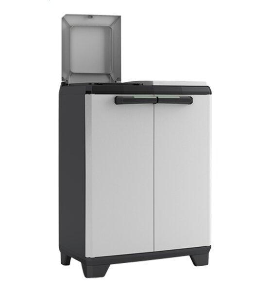 Split 20 Gallon Touch Top Multi-Compartments Trash