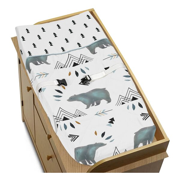 Bear Mountain Changing Pad Cover by Sweet Jojo Designs