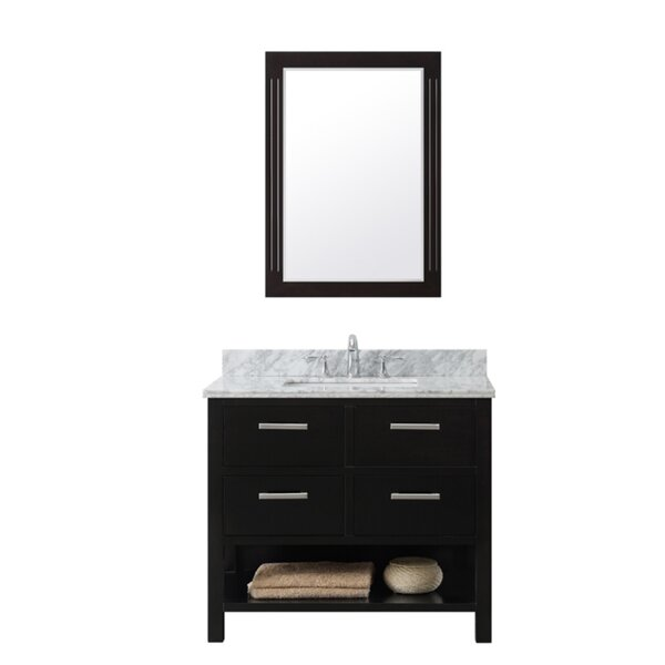 37 Single Bathroom Vanity Set by InFurniture