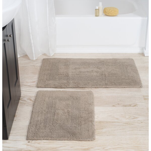2 Piece Cotton Bath Rug Set by Plymouth Home
