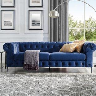Chesterfield Sofa And Ottoman Wayfair