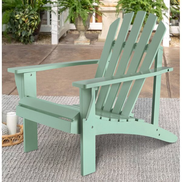 Pecor Wood Adirondack Chair by Highland Dunes Highland Dunes