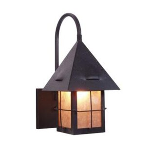 Great choice Lapaz 1-Light Outdoor Wall Lantern By Steel Partners