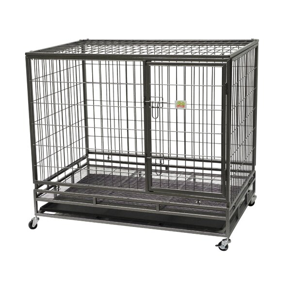 Steel Pet Crate by Go Pet Club