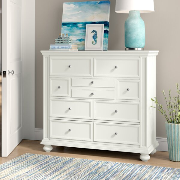 Marhill 9 Drawer Chest by Beachcrest Home