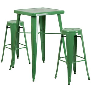 3 Piece Bar Table Set by Flash Furniture
