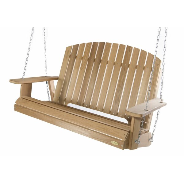 Pergola Porch Swing by All Things Cedar