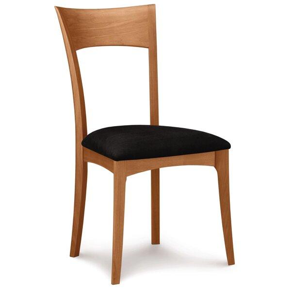 Ingrid Sidechair in Onyx Microsuede by Copeland Furniture Copeland Furniture