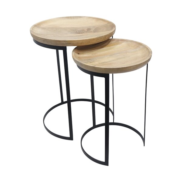 Newhall Drum Nesting Tables By Foundry Select