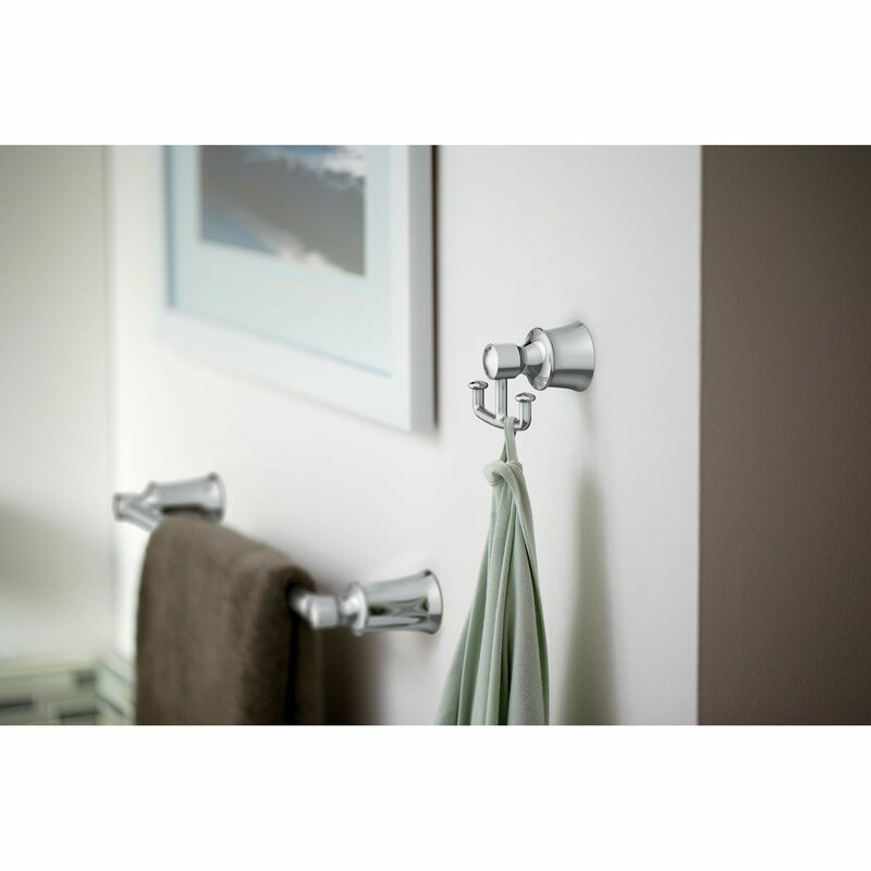 Bn Moen Dartmoor Double Wall Mounted