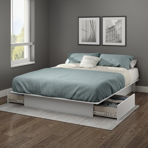 Design Step One Storage Platform Bed By South Shore Wonderful