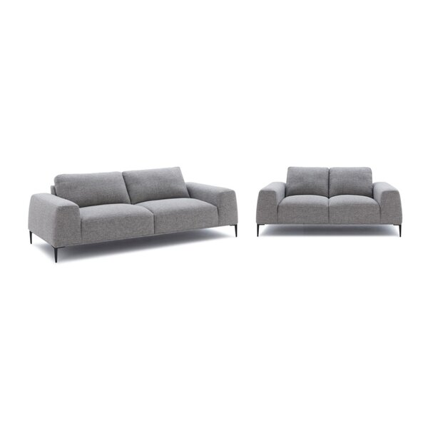 Lindsay 2 Piece Living Room Set by Orren Ellis