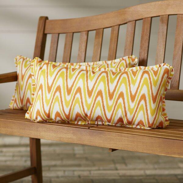 Merauke Indoor/Outdoor Lumbar Pillow (Set of 2) by Latitude Run