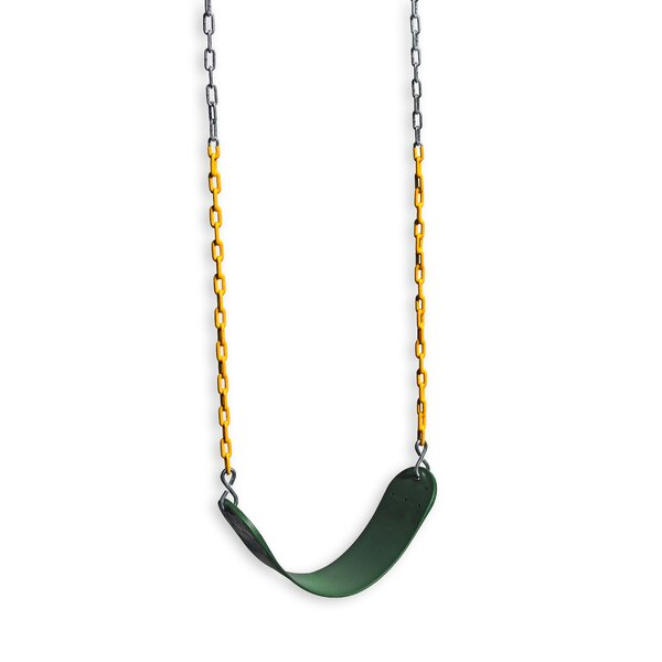 Heavy Duty Sling Swing with Coated Chain by Eastern Jungle Gym