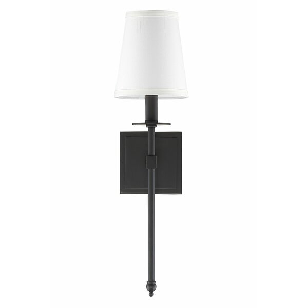 Brunner 1-Light Hardwired Wallchier by House of Ha