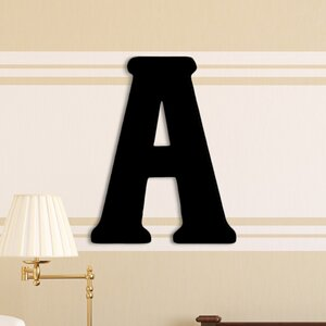 Damaris Oversized Painted Letter Hanging Initial by Viv + Rae