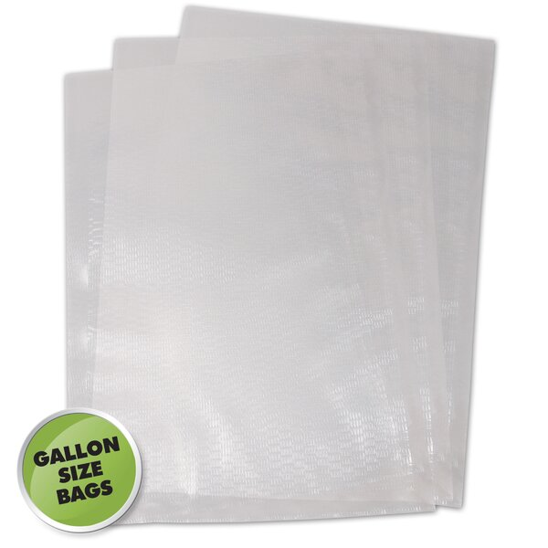 Chamber Vacuum Sealer Bag (Set of 250) by Weston