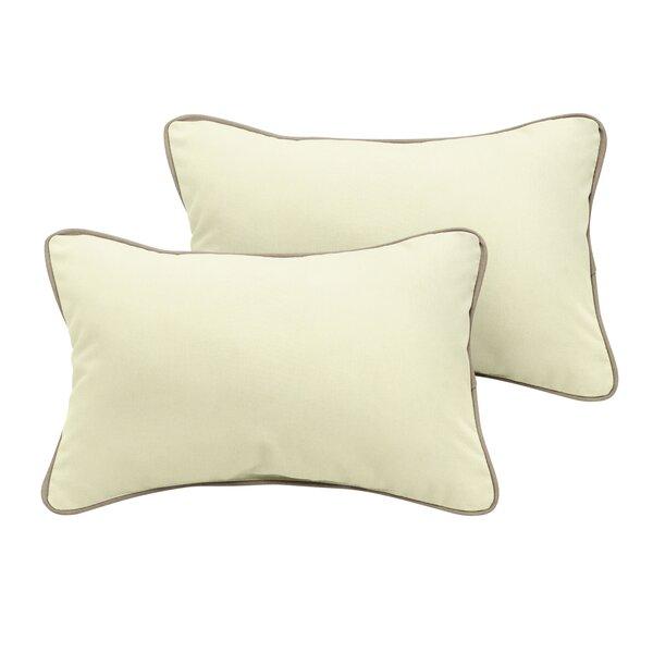 Cyrano Sunbrella Outdoor Lumbar Pillow (Set of 2) by Red Barrel Studio