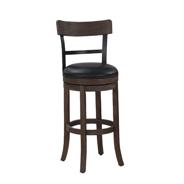 Carondelet 26 Swivel Bar Stool by Darby Home Co