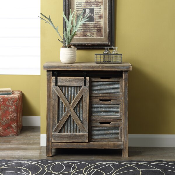 Mebane 1 Door Accent Cabinet by Gracie Oaks Gracie Oaks
