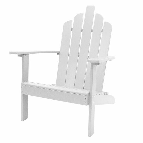 Spruill Patio Solid Wood Adirondack Chair by Highland Dunes Highland Dunes