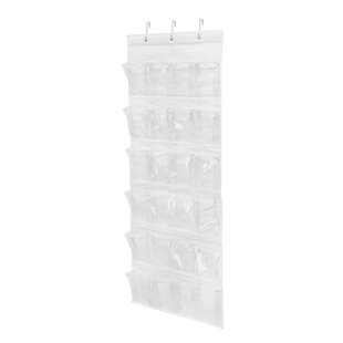 Comparison 12 Pair Overdoor Shoe Organizer By Honey Can Do