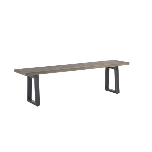 Guidry Mango Wood Bench by Williston Forge