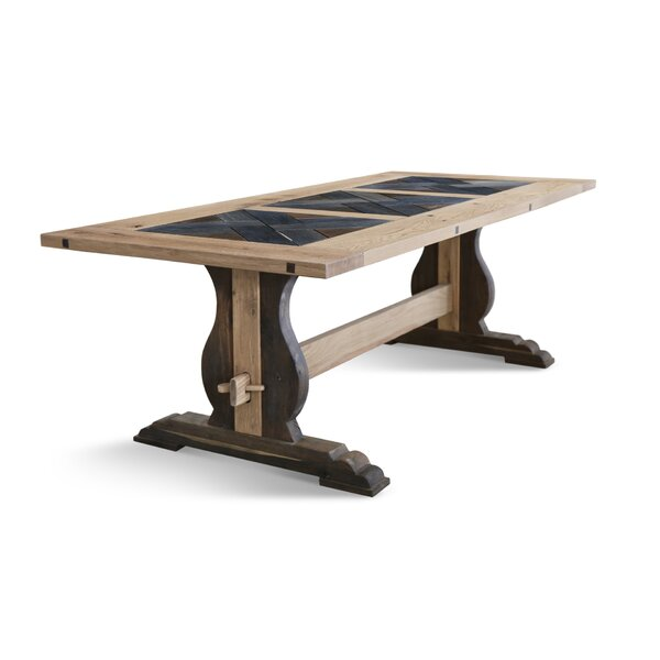Genovese Solid Wood Dining Table by Gracie Oaks