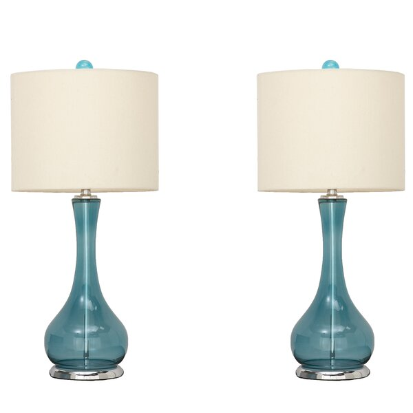 Mykonos 28 Table Lamp (Set of 2) by Urban Designs
