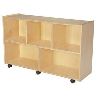 Reviews 5 Compartment Cubby with Casters By Childcraft