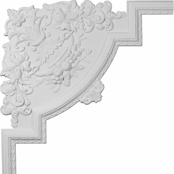 Loera 28H x 28W x 3/4D Panel Moulding Corner by Ekena Millwork
