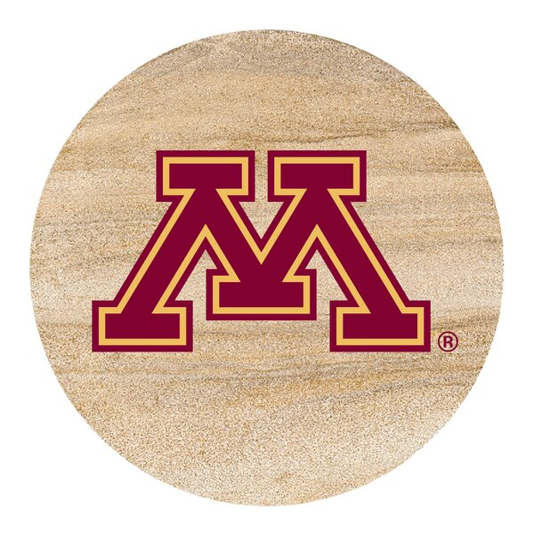 University of Minnesota Collegiate Coaster (Set of 4) by Thirstystone