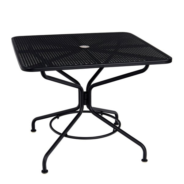 Mesh Top Dining Table by Woodard