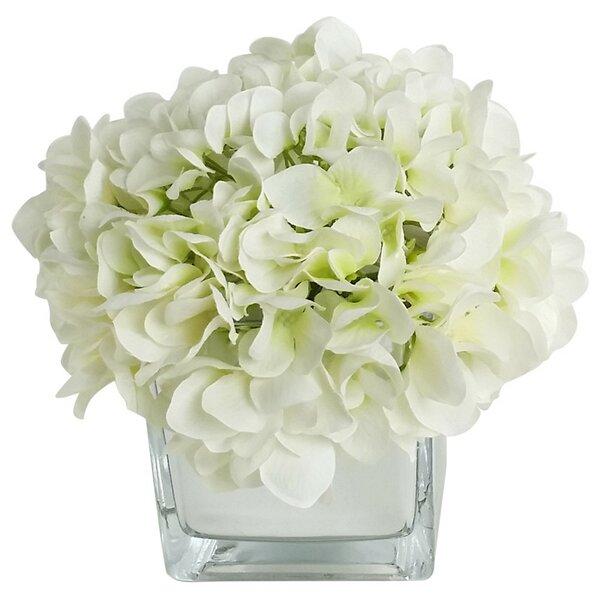 Artificial Silk Hydrangea Floral Arrangements in D