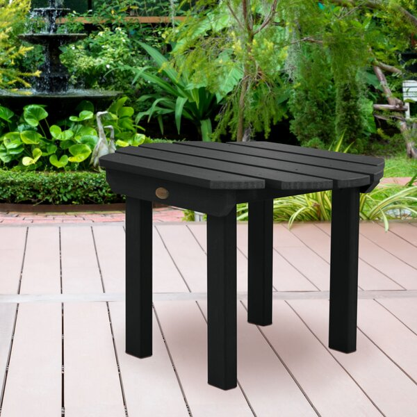 Wysocki Plastic/Resin Side Table by Breakwater Bay