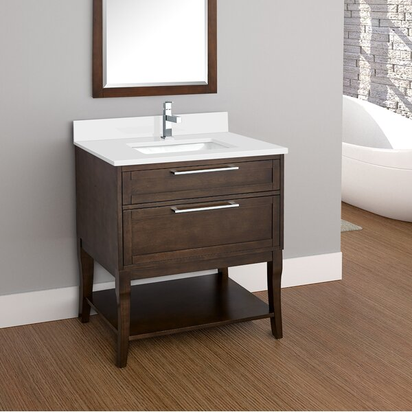 Sapphire 31 Single Bathroom Vanity Set by Latitude Run
