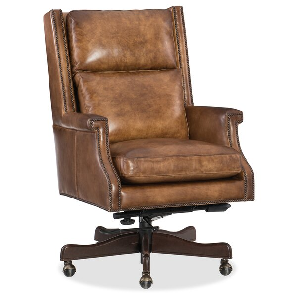 Beckett Genuine Leather Office Chair by Hooker Furniture