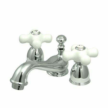 Widespread faucet Bathroom Faucet with Drain Assembly by Elements of Design