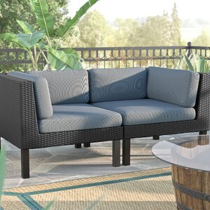 Zoar 2 Piece Deep Seating Group with Cushions Breakwater Bay