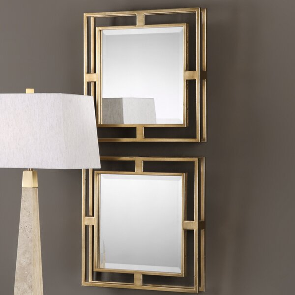 Wall Mirror (Set of 2) by Darby Home Co