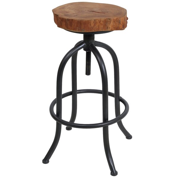 Ilsa 28 Swivel Bar Stool (Set of 2) by Millwood Pines