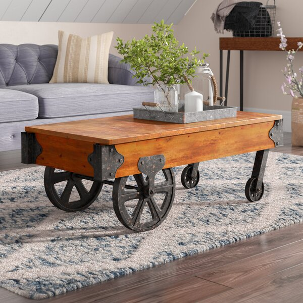 Push Cart Coffee Table Wayfair