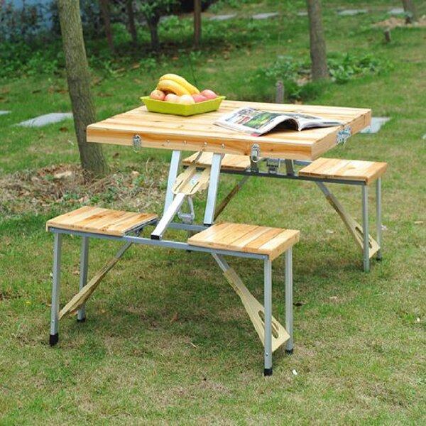 Lifetime Folding Picnic Table Wayfair