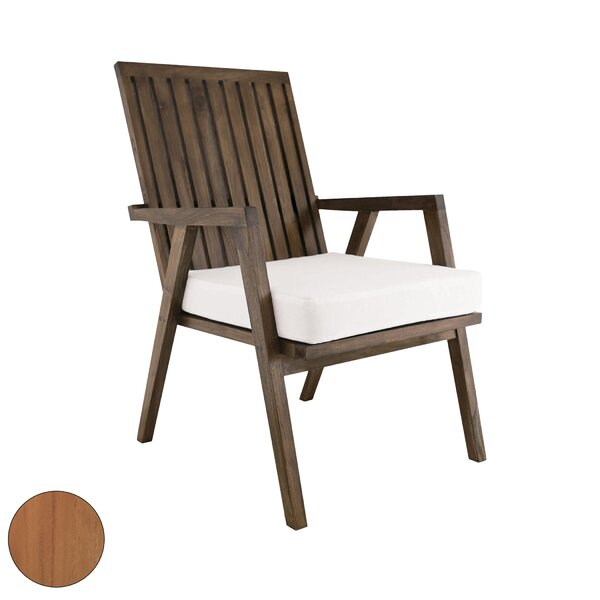 Pleasanton Teak Patio Chair by Foundry Select